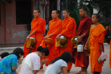 Monks Giving Thanks