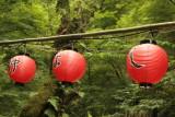 Three Daytime Lanterns