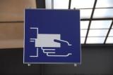 Bahnhof Sign