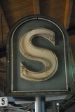 Old S Bahn Sign