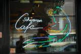 Schwarzes Cafe/Self-Portrait