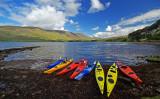 Kayaks at Applecross