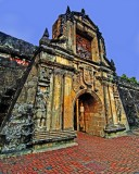 Gate of Fuerza de Santiago