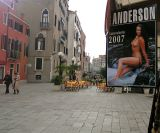 Pamela Anderson in Venice