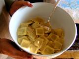 Agnolotti - Italian food