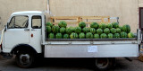 Truk of melons