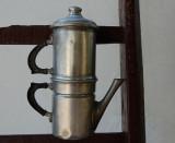 old Neapolitan coffee pot