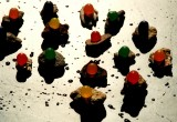 candied stones