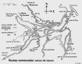 003-Routes communales  autour de Lescun- It. 1/. 2/. 3/. 4/. 5/.
