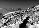 L'ossau depuis les neiges torturées du Labigouer (2175 m)