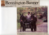 from the front page of the Bennington Banner 10/24/07