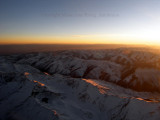 Sunset over Afghanistan