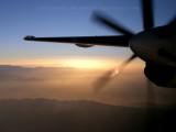 Sunrise above Afghanistan