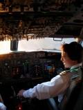 JJ at the controls