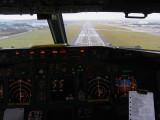 Landing at Prestwick
