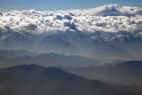 Afghan valley and clouds