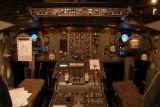Cockpit in the dark