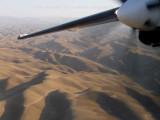 Turning over the dunes near Meymaneh