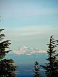 Mt. Baker from Grouse Mountain