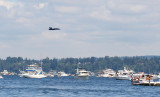 over Lake Washington