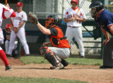 josh behind the plate