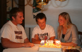 Birthday Party for Tyler, Matt, and Alex