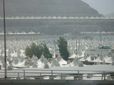A SMALL segment of the tents for Hajj pilgrims