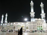 Masjid Al-Haram by night