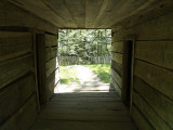 Dog Trott in Old Log Cabin