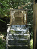 Old Grist Mill Wheel