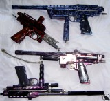 Small Shop Series (14 guns)(Jackal, Carter, Spine, Eyeball, Ripper,  Rudy Dean, Dragon Designz Wraith)