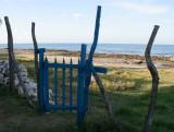 Through the gate at Mar Blue