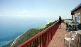 The restaurant balcony, Lover's Leap