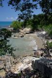 A small cove west of Treasure Beach