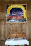 Altaristaflan í Krýsuvíkurkirkju