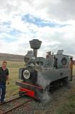 The little German Feldbahn engine recently restored by Sandstone