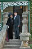 Vernon and Tessa Joughin on Boschfontein steps