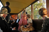On the train with the string quartet