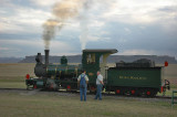 The second locomotive with Lesotho behind it.
