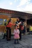 Tibetan Family at Drepung Monastery