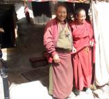 Nuns at Drepung Monastery