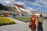 At Potala Palace