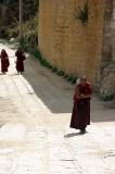 Hauling Water at Ganden Monastery