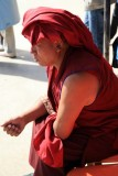 Resting at Jokhang Temple