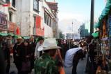 Barkhor Street by Jokhang Temple