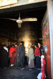 Large Prayer Wheel at Jokhang Temple