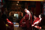 Monk Being Examined for Higher Office