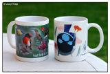 bird mug designs by Cheryl Ridge