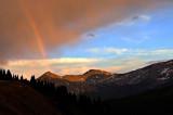 Rainbow in the Mist at Cottonwood Pass