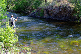 Fishing the Rock hole